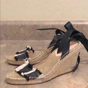 Loeffler Randall Ankle Tie Espadrilles
